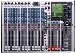 パナソニック Panasonic ラムサ RAMSA デジタルミキサー WR-D01
