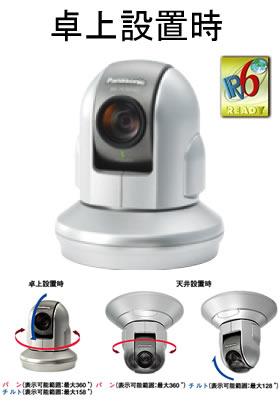 パナソニック Panasonic ネットワークカメラ(屋内タイプ) BB-HCM580