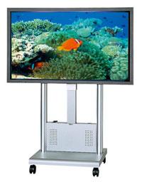 オーロラ AURORA 大型ディスプレイ用 スタンド(電動昇降タイプ) PDE-1500