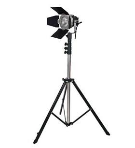 LPL ビデオライト VL-1300 スタンド付 (L27431)
