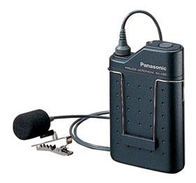 パナソニック Panasonic 800MHz帯 PLL ワイヤレスマイクロホン(タイピン形) WX-4300B