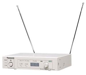 パナソニック Panasonic 300MHz帯 PLL ダイバシティ ワイヤレス受信機 WX-R300