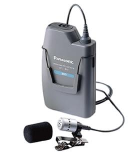 パナソニック Panasonic 300MHz帯 PLL ワイヤレスマイクロホン(タイピン形) WX-1800