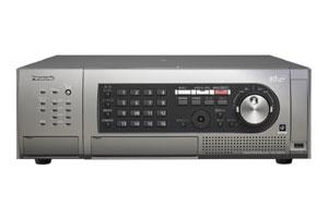 パナソニック Panasonic デジタルディスクレコーダー(16入力 240jps/15コマ記録) WJ-HD616
