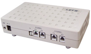 LET'S 商売繁盛�U ゑびす INS 2回線 4ch用 FSK-DST (L-135-4ch)