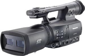 パナソニック Panasonic 一体型 二眼式 フルHD 3Dカメラレコーダー AG-3DA1