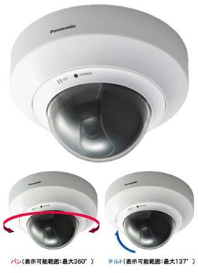 パナソニック Panasonic ネットワークカメラ(屋内タイプ) BB-HCM527