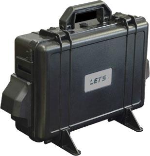 LET'S 80Wソーラーパネル付き 防水蓄発くん Li-1 SO-N600+80
