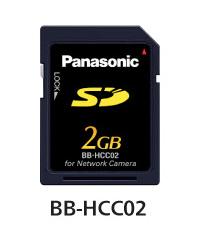 パナソニック Panasonic ネットワークカメラ専用 SDメモリーカード(2GB) BB-HCC02