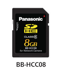 パナソニック Panasonic ネットワークカメラ専用 SDHCメモリーカード(8GB) BB-HCC08
