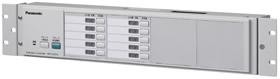 パナソニック Panasonic 増設用 操作ユニット(ラックマウントタイプ)(10局) WK-EX510