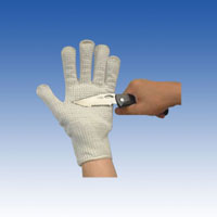 TAKEX 護身用防刃手袋 スチールダイニーマ防刃手袋 GL-D2