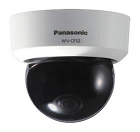パナソニック Panasonic ドームタイプ カラーテルックカメラ WV-CF32