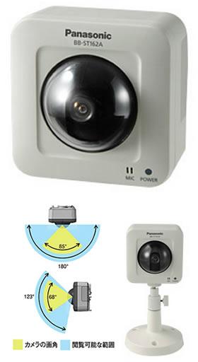 パナソニック Panasonic 屋内タイプ ネットワークカメラ BB-ST162A
