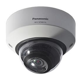 パナソニック Panasonic 屋内対応 HD ドームネットワークカメラ WV-SFN611L