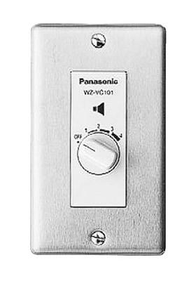 パナソニック Panasonic ボリュームコントローラー(新金属プレート付タイプ) WZ-VC101/F