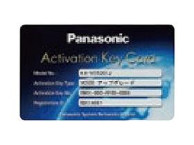 パナソニック Panasonic アクティベーションキーカード(4地点接続拡張) KX-VCS301J