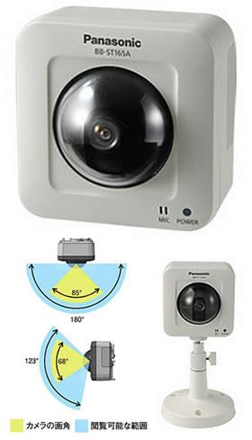 パナソニック Panasonic 屋内タイプ HDネットワークカメラ BB-ST165A