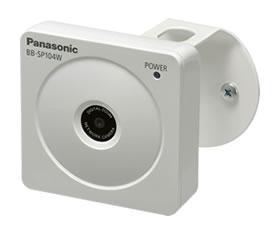 パナソニック Panasonic 屋内タイプ ネットワークカメラ BB-SP104W