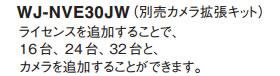 パナソニック Panasonic カメラ拡張キット WJ-NVE30JW