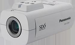 パナソニック Panasonic 屋内ボックス テルックカメラ(レンズ別売) WV-CP65