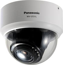 パナソニック Panasonic 屋内ドームタイプ カラーテルックカメラ WV-CF31L