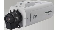 パナソニック Panasonic 屋内ボックス テルックカメラ (レンズ付) WV-CP65V
