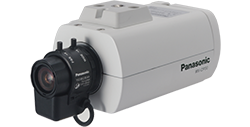 パナソニック Panasonic 屋内ボックス テルックカメラ (レンズ付) WV-CP30V