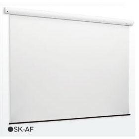 KIC コストパフォーマンスモデル電動巻上スクリーン SK-AF120W [2756×2100 (アスペクトフリー)]