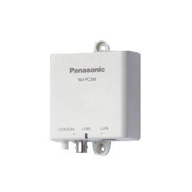 パナソニック Panasonic 同軸-LANコンバーター(PoE給電機能付)  カメラ側  WJ-PC200