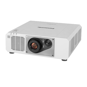 パナソニック Panasonic 1チップDLP方式 プロジェクター PT-RZ570JW (ホワイト)