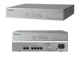 パナソニック Panasonic PoEカメラ電源ユニット 4ポート WJ-PU104