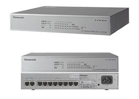 パナソニック Panasonic PoEカメラ電源ユニット 8ポート WJ-PU108