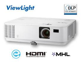 NEC ポータブルプロジェクター ViewLight NP-V332WJD