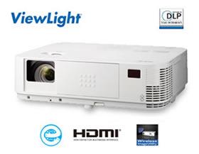 NEC DLP方式 プロジェクター ViewLight NP-M403HJD