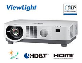 NEC 1チップ DLP方式 プロジェクター ViewLight NP-P502HLJD