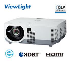 NEC 1チップ DLP方式 高輝度プロジェクター ViewLight NP-P502HJD