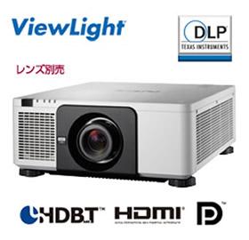 NEC DLP方式 高輝度プロジェクター ViewLight NP-PX803UL-WHJD (レンズ別売)