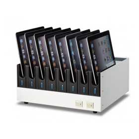 オーロラ AURORA タブレットPC充電同期ユニット TCS-8