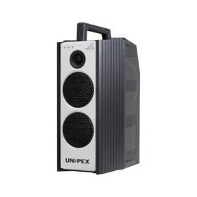 ユニペックス UNI-PEX 300MHz帯ダイバシティ CD付防滴形ハイパワーワイヤレスアンプ WA-372CD