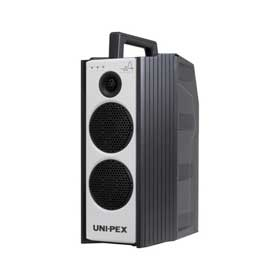 ユニペックス UNI-PEX 300MHz帯ダイバシティ 防滴形ハイパワーワイヤレスアンプ WA-372