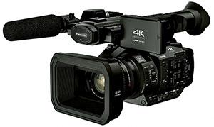 パナソニック Panasonic 4Kメモリーカードカメラレコーダー AG-UX180