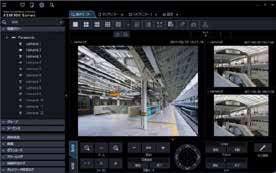 パナソニック Panasonic 映像監視ソフトウエア(ライブ画表示専用) WV-ASM30