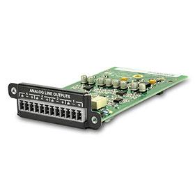 シーメトリックス Symetrix 出力拡張カード(Edge、Radiusシリーズ用) 4 Channel Analog Output Card