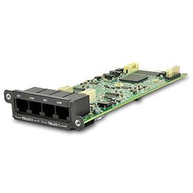 シーメトリックス Symetrix アナログ電話回線インターフェイスカード(Edge、Radiusシリーズ用) 2 Line Analog Telephone Interface Card