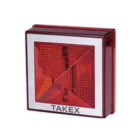TAKEX フラッシュライト KS-70RB-24 (レッド)